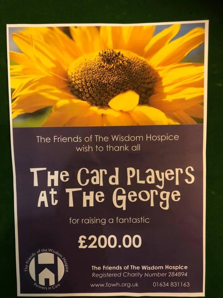 The Card Players, George, Card night, rochester, medway, kent